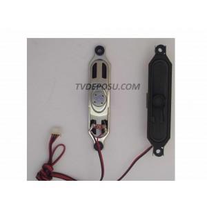 AXEN, AXO32DLD12AT057-KTM LED TV, HOPARLOR
