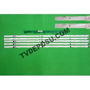 SAMSUNG, D2GE-320SC0-R0, [13.04.23],UE32F4000AW, CY-HF320AGSV1H, 5 ADET LED BAR