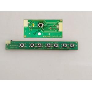 ARÇELİK, YGS192-02, YGR191-02 V.0, 82-203 3HD LCD , TUS TAKIMI, GÖZ