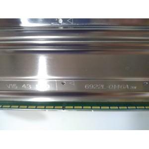 LG, 6922L-0146A, LC430EQE, 43UF7787, LED TV, LG LED BAR