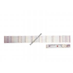 GJ-2K15-430-D510-17.8MM-V4, TPT430U3-EQYSHM.G, 43PUK4900/12, 5 ADET LEDBAR