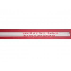 SAMSUNG, LTF400HM05, 8 ADET, UZUNLUK 90 CM, EN 4.3 MM, LCD TV FLORESAN