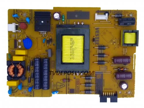 VESTEL, 17IPS62, 17MB97, SMART 40FB7100 40 LED TV, POWER BOARD, BESLEME KARTI