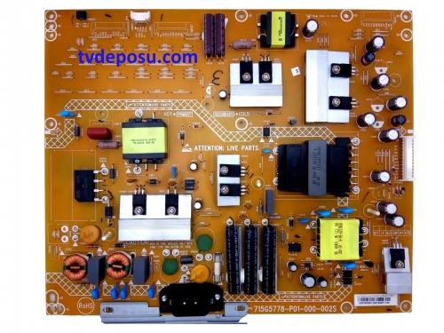 PHİLİPS, 715G5778-P01-000-002S, 42PFL5008K/12, POWER BOARD, BESLEME KARTI